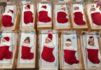 baby in stocking at texas methodist hospital