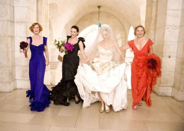 manolo blahnik nyc, carrie bradshaw wedding satc movie