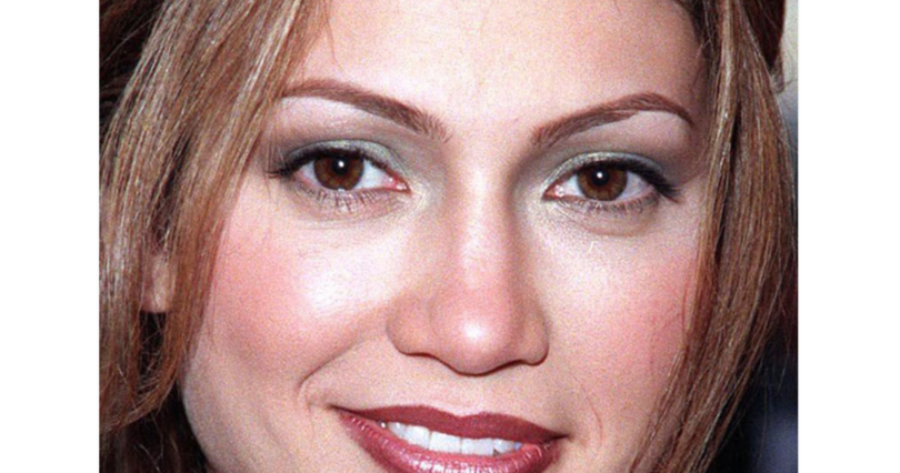 celebrities without plastic surgery, jennifer lopez