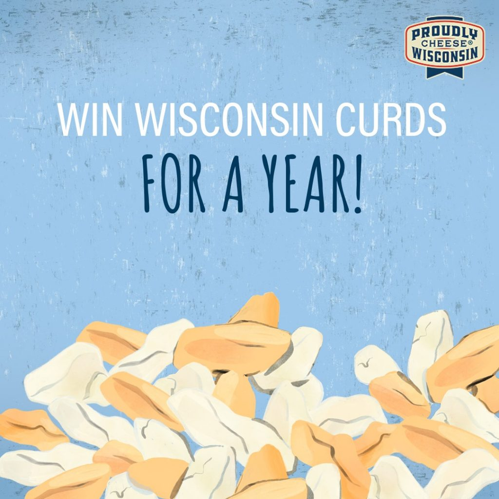 wisconsin cheese curds giveaway